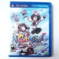 GalGun: Double Peace (Sony PlayStation Vita, 2016) Brand New Factory Sealed