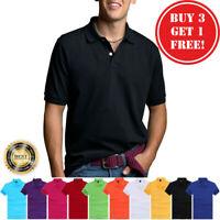 Men's Polo Shirt Golf Sports Cotton Short Sleeve Jersey Casual Plain New T Shirt