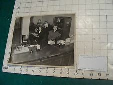 original photo: 1948 WESTERN MASS. TELEPHONE WORKERS springfield WOMAN