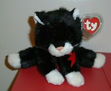 ST* Ty Classic Plush ~ BOOTS the Black and White Cat (11 Inch) MWMT (Sticker)