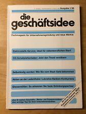 Geschäftsidee I-86 - Rentrop - Schallplattenladen - Farbberater - Elektrostatik
