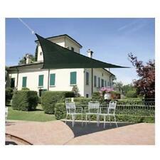 vela OMBREGGIANTE triangolare Verde 3x3x3mt - giardino telo copertura tenda