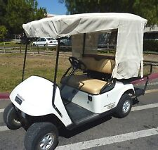 """Golf Cart Mesh Sun Shade Cover for 4 Seater Golf Cart Roof up to 80"""" Beige"""