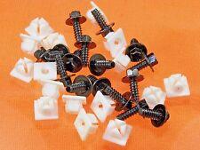 GM License Plate Screws & Nuts (Qty 32 Pcs) #1008