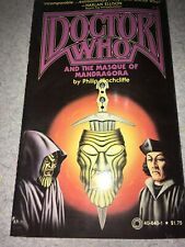 Doctor Who And The Masque Of Mandragora (Very Good) 40-640-1 Philip Hinchcliffe