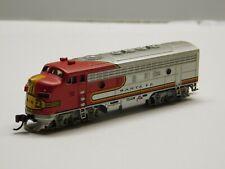 N Scale - Bachmann - Santa Fe Diesel Locomotive Train w/ DCC