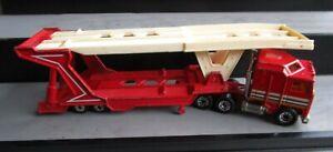 VINTAGE MATCHBOX CONVOY TRUCK SEMI TRAILER CAR TRANSPORTER KENWORTH
