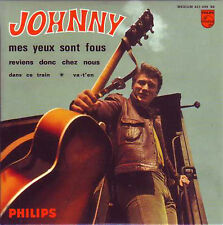 ☆ CD Single Johnny HALLYDAY Mes yeux sont fous EP REPLICA 4-TRACK 9838006 NEUF