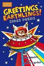 Greetings, Earthlings!: Space Poems, James Carter, New Book