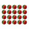 Golf Swing Training Indoor Practice Sponge Ball Golf Balls Rainbow Color AU