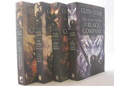 Chronicles of The Black Company #1-10: Series by Glen Cook (4 Book Set) Paperbac