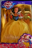 """DISNEY 1994 Barbie Doll~SNOW WHITE~""""Special Sparkles Collection""""~FACTORY SEALED!"""