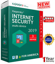 KASPERSKY INTERNET Security - 2020 / 3 Devices /1 Year/ Region - AMERICA  13.25$