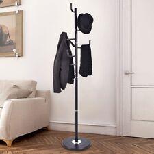 "69"" Home Living Room Metal Coat Hat Clothes Jacket Storage Stand Holder Us"