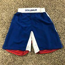 Dollamur Men Sz S Wrestling Shorts Grappling Texas Red White Blue Mma Grapplers