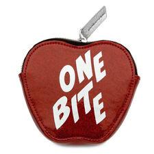 "Disney Store Danielle Nicole Snow White ""One Bite"" Apple Coin Purse Makeup Bag"