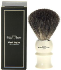 Edwin Jagger Pure Badger Shaving Brush Ivory