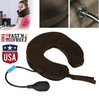 Expandable Pain-Relief Neck Pillow Collar Cervical Traction Brace Support Pillow