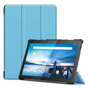 Sky Blue Case For Lenovo Tab M10 10.1in HD Tablet Cover Leather Stand