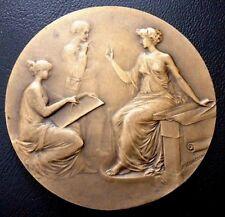 1900's French Art Nouveau Drawing /Jules Prosper Legastelois  Bronze Medal / M93