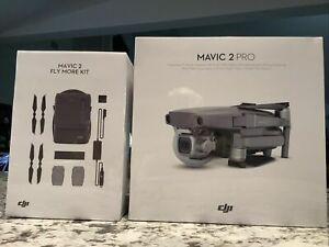 DJI Mavic 2 PRO Drone Quadcopter with Fly More Kit Combo Bundle New Sealed
