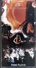 """Pink Floyd,Original 1975 Rock Calendar 12""""x 22"""" Poster ,Rare old poster"""
