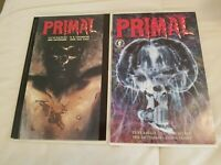 Clive Barker  Primal Lot Trade Paperback and 2 of 2 issue Rare Horror Dark Horse