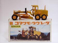 Komatsu GD605A Grader - n/c - 1/50 - Diapet Yonezawa #T-74 - MIB