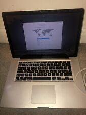Mac Book pro 15 mid 2012 i7 + Charging Cables