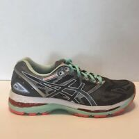 Asics Gel Nimbus 19 Running Shoes White/Coral Sneakers Women's Size 9(D)