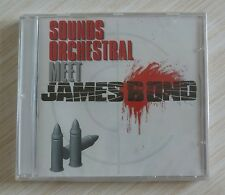 CD ALBUM MEET JAMES BOND - SOUND ORCHESTRAL NEUF SOUS CELLO