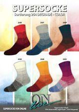 ONline Sockenwolle DEGRADÉ - COLOR 40 g **Farbwahl**