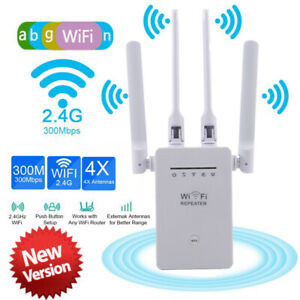 WiFi Range Extender Internet Booster Network Router Wireless Signal Repeater