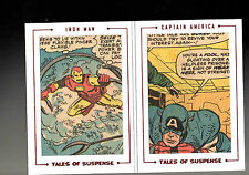 Marvel The Avengers Silver Age Dual Archive Cut Tales  Suspence TS66 card 5/51