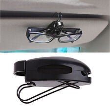 Car Auto Sun Visor Clip Holder For Reading Glasses Sunglasses Eyeglass Card