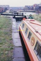 PHOTO  OLDBURY LOCKS TITFORD CANAL 1978