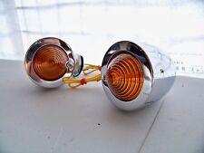 De Metal Cromado indicadores bullet/beehive Flush motocicleta Stem Universal