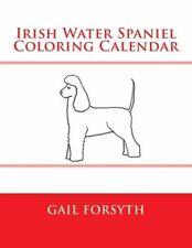 Irish Water Spaniel Coloring Calendar