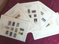 WEST GERMANY 1978-79: 5 ALBUM PAGES MNH** 32 stamps+2 minisheets