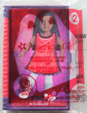 2014 McDonalds: AMERICAN GIRL #2: ISABELLE Fabric Inspiration Book -New, Sealed!