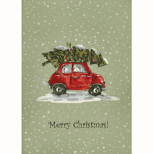 Personalised Vintage Car Christmas Cards - Pack Of 20 - One Design
