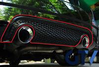GENUINE Rear Bumper Lower Honeycomb Diffuser Two Sided Exhaust TT 8N MK1