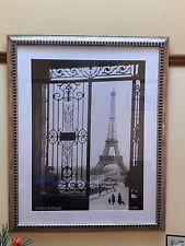 Framed Eiffel Tower Print