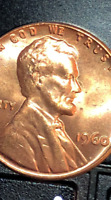 1960-P Lincoln Memorial Penny Cent (DOUBLE DIE) DDO/DDR BU - Red Uncirculated