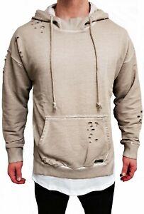 Kapuzen Pullover Hoodie Hoody Pulli Kapuzenpullover Sweat-shirt Sweater m Sweat