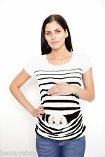 Maternity wear Pregnancy-Maternity_T-Shirt with Sweet Pressure ShowerBVK1
