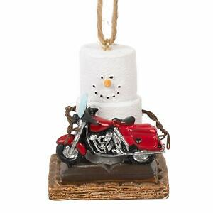 Midwest CBK Toasted S'Mores Motorcycle Ornament