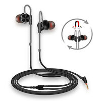 Noise Isolating in Ear Headphones Earphones with Pure Sound and Powerful Bass