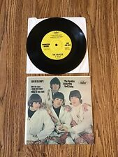 """The Beatles 1970's unauthorized 'Top of the Pops' ep 7"""" cardboard cover & record"""