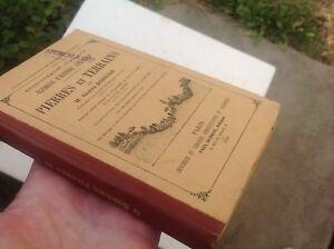 1892 Eléments d'histoire naturelle Pierres et terrains / Bonnier, Gaston